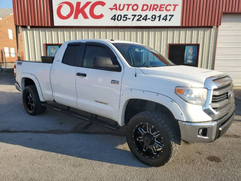 2014 Toyota Tundra for sale at OKC Auto Direct in Oklahoma City OK