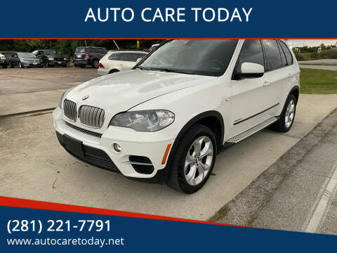2012 BMW X5 for sale at AUTO CARE TODAY in Spring TX