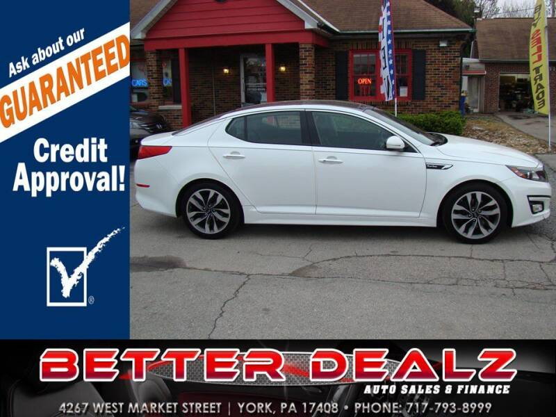 2015 Kia Optima for sale at Better Dealz Auto Sales & Finance in York PA