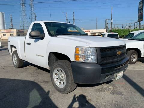 2012 Chevrolet Silverado 1500 for sale at Best Buy Quality Cars in Bellflower CA