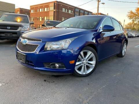 2012 Chevrolet Cruze for sale at Samuel's Auto Sales in Indianapolis IN