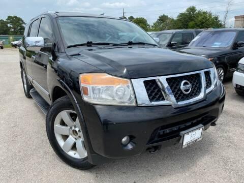 2011 Nissan Armada for sale at KAYALAR MOTORS in Houston TX