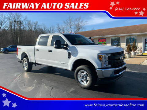 2018 Ford F-250 Super Duty for sale at FAIRWAY AUTO SALES in Washington MO