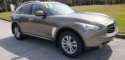 2012 Infiniti FX35 for sale at Chris Motors in Decatur GA