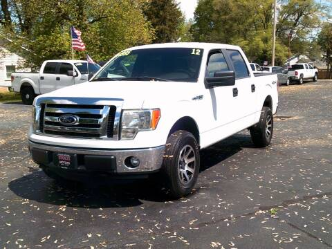 2012 Ford F-150 for sale at Stoltz Motors in Troy OH
