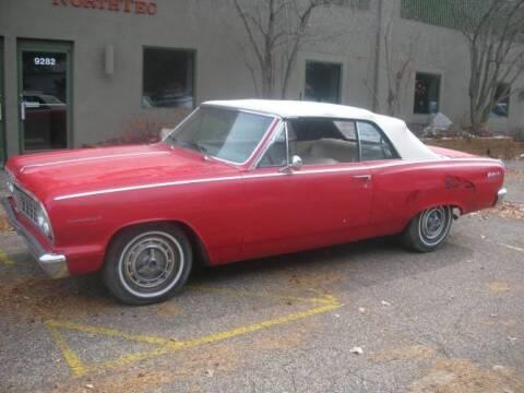 1964 Chevrolet Malibu for sale at Classic Car Deals in Cadillac MI