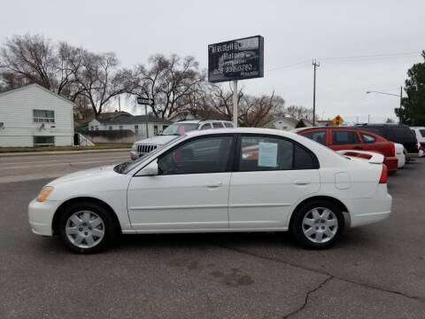 2002 Honda Civic for sale at BRAMBILA MOTORS in Pocatello ID