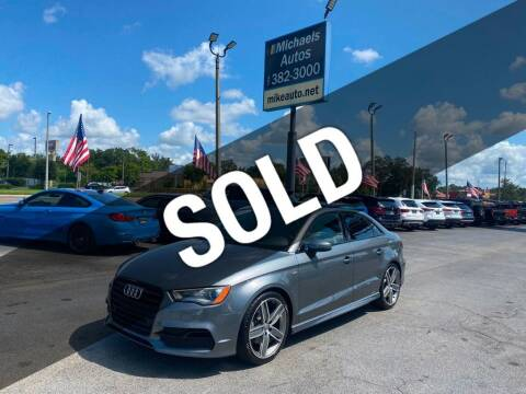 2016 Audi A3 for sale at Michaels Autos in Orlando FL