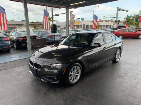2016 BMW 3 Series for sale at American Auto Sales in Hialeah FL