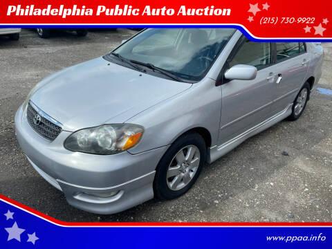 2006 Toyota Corolla for sale at Philadelphia Public Auto Auction in Philadelphia PA