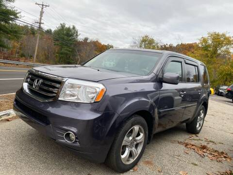 2014 Honda Pilot for sale at Royal Crest Motors in Haverhill MA