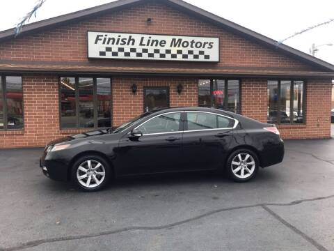 2012 Acura TL for sale at FINISHLINE MOTORS in Canton OH