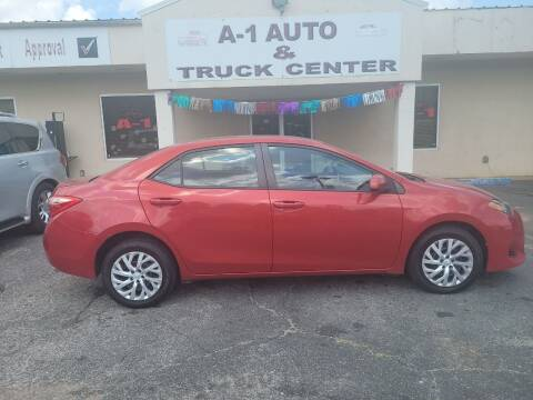 2017 Toyota Corolla for sale at A-1 AUTO AND TRUCK CENTER in Memphis TN