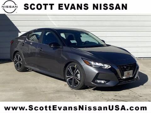 2021 Nissan Sentra for sale at Scott Evans Nissan in Carrollton GA