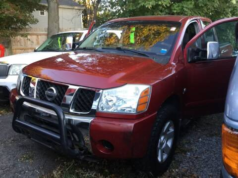 2004 Nissan Titan for sale at Drive Deleon in Yonkers NY
