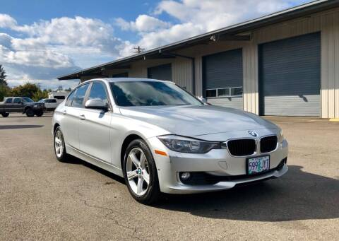 2013 BMW 3 Series for sale at DASH AUTO SALES LLC in Salem OR