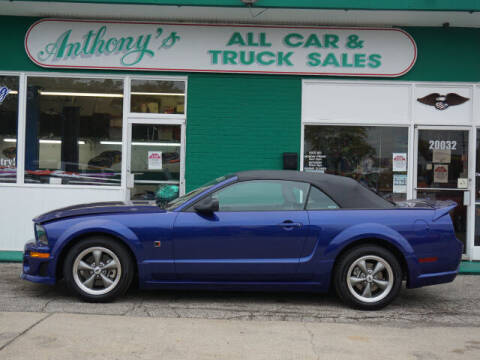2005 Ford Mustang for sale at Anthony's All Cars & Truck Sales in Dearborn Heights MI