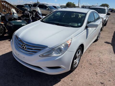 2011 Hyundai Sonata for sale at PYRAMID MOTORS - Pueblo Lot in Pueblo CO