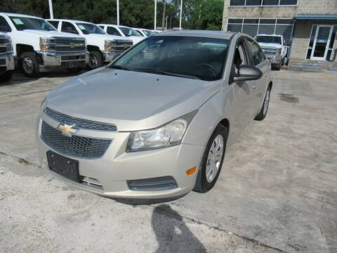 2012 Chevrolet Cruze for sale at Lone Star Auto Center in Spring TX