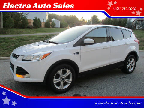 2016 Ford Escape for sale at Electra Auto Sales in Johnston RI