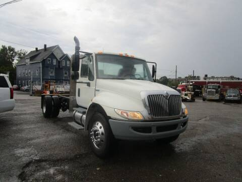 2008 International 4400 for sale at Lynch's Auto - Cycle - Truck Center - Trucks and Equipment in Brockton MA