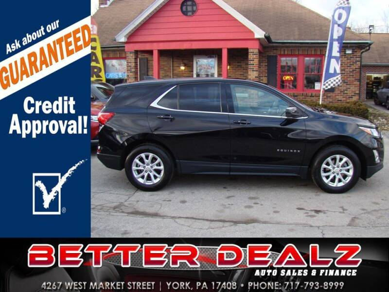 2019 Chevrolet Equinox for sale at Better Dealz Auto Sales & Finance in York PA