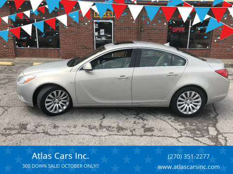 2011 Buick Regal for sale at Atlas Cars Inc. in Radcliff KY