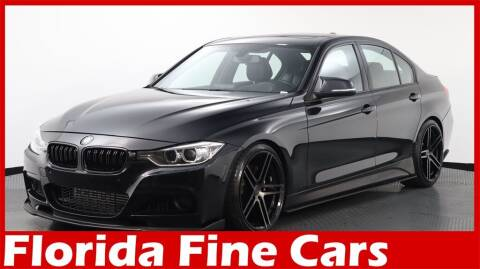 2014 BMW 3 Series for sale at Florida Fine Cars - West Palm Beach in West Palm Beach FL