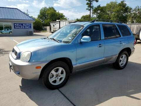 2003 Hyundai Santa Fe for sale at Kell Auto Sales, Inc - Grace Street in Wichita Falls TX