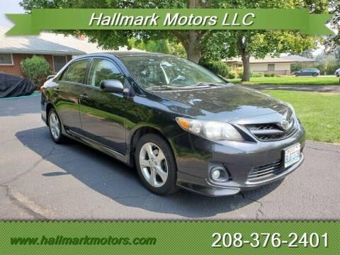 2012 Toyota Corolla for sale at HALLMARK MOTORS LLC in Boise ID