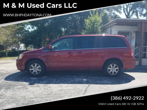 2008 Chrysler Town and Country for sale at M & M Used Cars LLC in Daytona Beach FL