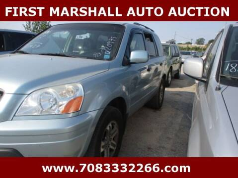 2003 Honda Pilot for sale at First Marshall Auto Auction in Harvey IL