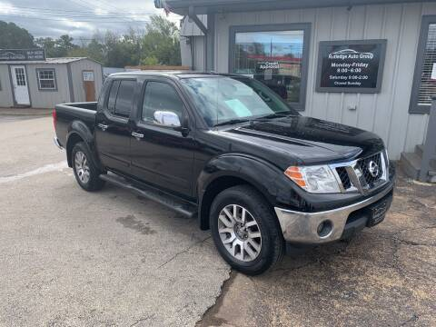 2013 Nissan Frontier for sale at Rutledge Auto Group in Palestine TX