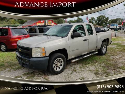 2009 Chevrolet Silverado 1500 for sale at Advance Import in Tampa FL