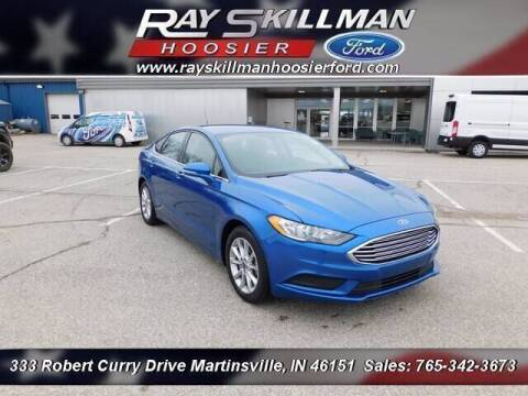 2017 Ford Fusion for sale at Ray Skillman Hoosier Ford in Martinsville IN