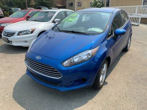 2018 Ford Fiesta for sale at Contra Costa Auto Sales in Oakley CA