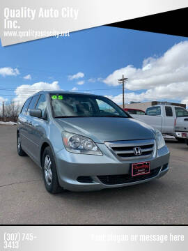 2005 Honda Odyssey for sale at Quality Auto City Inc. in Laramie WY