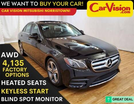 2018 Mercedes-Benz E-Class for sale at Car Vision Mitsubishi Norristown in Trooper PA