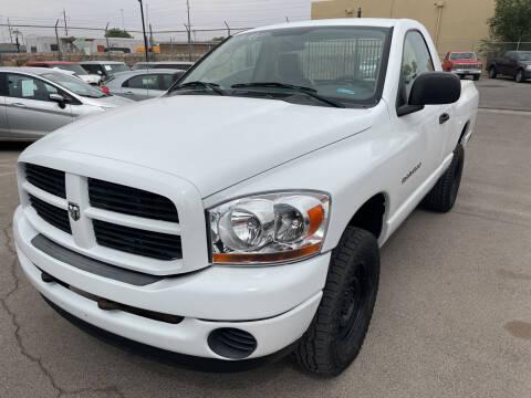 2006 Dodge Ram Pickup 1500 for sale at Legend Auto Sales in El Paso TX