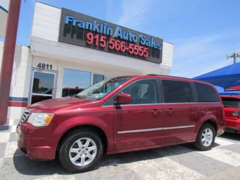 2010 Chrysler Town and Country for sale at Franklin Auto Sales in El Paso TX