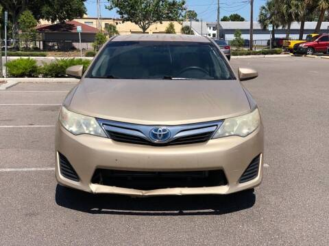 2012 Toyota Camry Hybrid for sale at Carlando in Lakeland FL