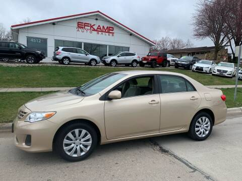 2013 Toyota Corolla for sale at Efkamp Auto Sales LLC in Des Moines IA
