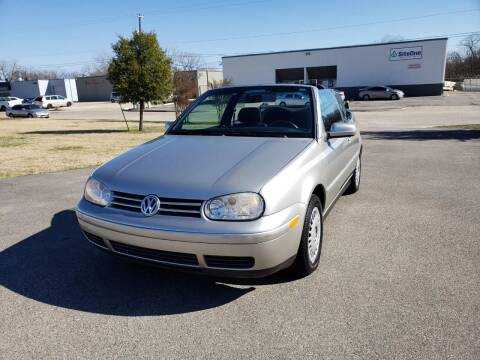 1999 Volkswagen Cabrio for sale at Image Auto Sales in Dallas TX