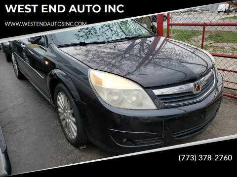 2008 Saturn Aura for sale at WEST END AUTO INC in Chicago IL