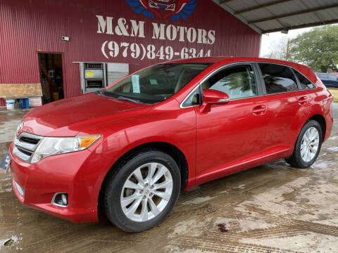 2013 Toyota Venza for sale at M & M Motors in Angleton TX