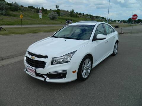 2015 Chevrolet Cruze for sale at Dick Nelson Sales & Leasing in Valley City ND