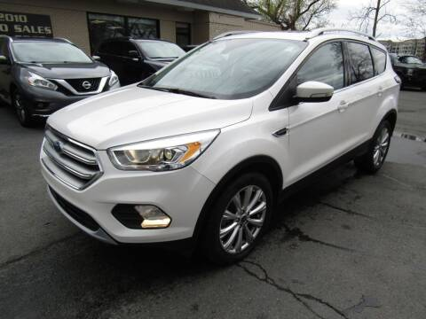 2017 Ford Escape for sale at 2010 Auto Sales in Troy NY