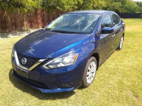 2016 Nissan Sentra for sale at El Jasho Motors in Grand Prairie TX