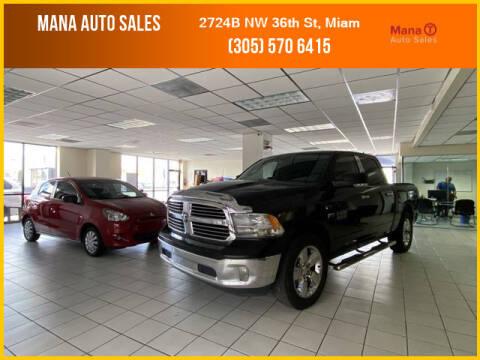 2013 RAM Ram Pickup 1500 for sale at MANA AUTO SALES in Miami FL