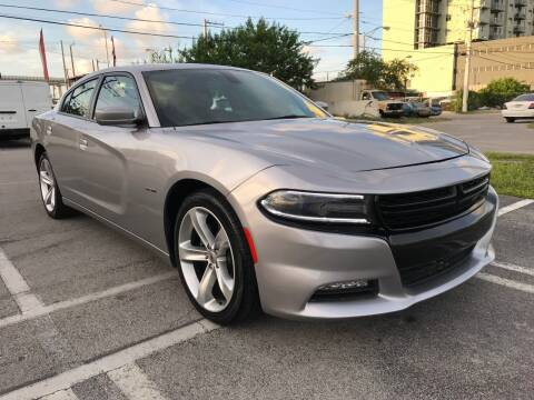 2018 Dodge Charger for sale at MIAMI AUTO LIQUIDATORS in Miami FL